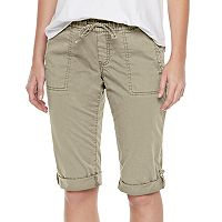 Women's SONOMA Goods for Life™ Solid Pull-On Skimmer Shorts