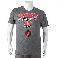 Big & Tall DC Comics The Flash Logo Tee