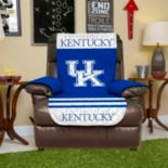 Kentucky Wildcats Quilted Recliner Chair Cover