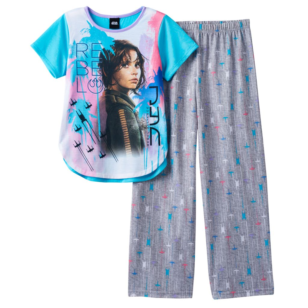 Girls 6-14 Rogue One: A Star Wars Story Jyn Erso Pajama Set