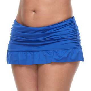 Plus Size Apt. 9® Ruched Skirtini Bottoms