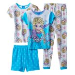 Disney's Frozen Elsa Girls 4-10 Pajama Set