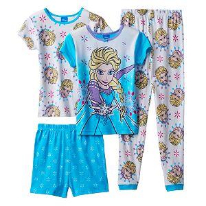 Disney's Frozen Elsa Girls 4-10 Pajama Set