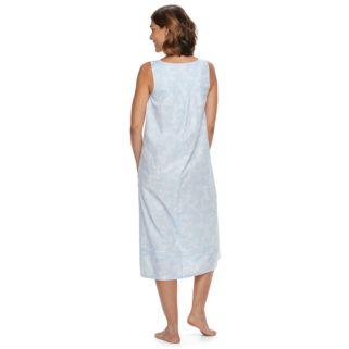 Women's Croft & Barrow® Pajamas: Pintuck Long Nightgown