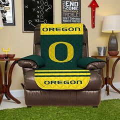 Oregon Ducks Quilted Recliner Chair Cover