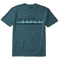 Big & Tall Newport Blue Palms Away Tee