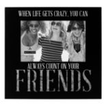 "Malden ""Friends"" 4"" x 6"" Galvanized Frame"