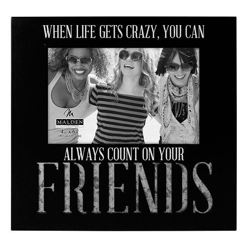 Malden Friends 4 x 6 Galvanized Frame