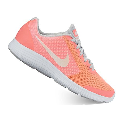 016ca27e7f22 Nike Revolution 3 SE Grade School Girls  Running Shoes