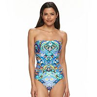 Women's Apt. 9® Cutout Halter One-Piece Swimsuit