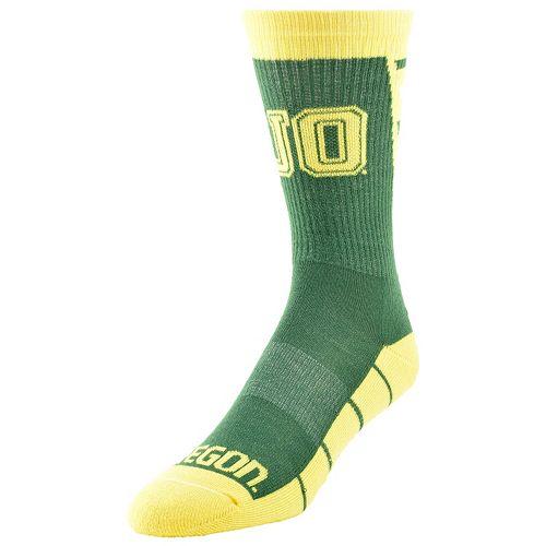 Women's Mojo Oregon Ducks Energize Crew Socks