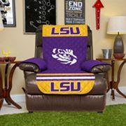 LSU Tigers Quilted Recliner Chair Cover