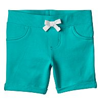 Girls 4-10 Jumping Beans® Rolled Cuffs Solid Jegging Shorts