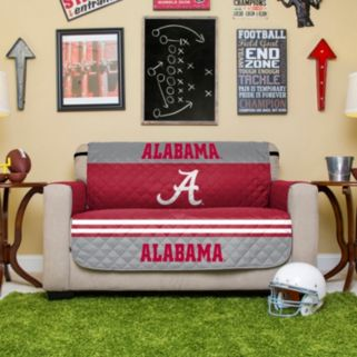 Alabama Crimson Tide Quilted Loveseat Cover