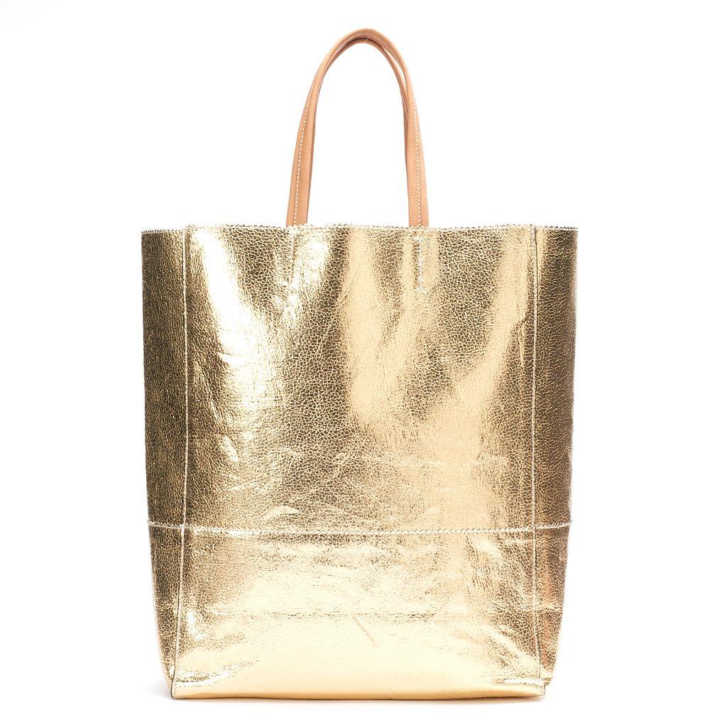 Women's JUICY Metallic Tote Bag