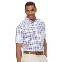 Men's Croft & Barrow® True Comfort Classic Fit Stretch Patterned Button Down Shirt