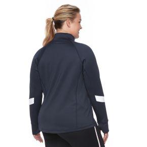 Plus Size FILA SPORT® Chevron Track Jacket