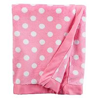 Baby Carter's 30 x 40 Patterned Plush Blanket