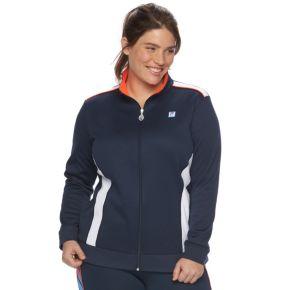 Plus Size FILA SPORT® Colorblock Track Jacket