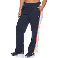 Plus Size FILA SPORT® Colorblock Straight-Leg Track Pants