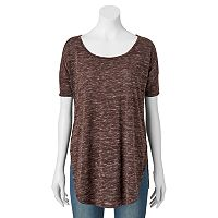 Women's SONOMA Goods for Life™ Marled Scoopneck Tee