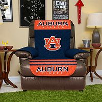 Auburn Tigers Quilted Recliner Chair Cover