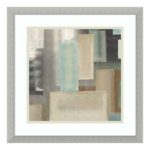 Aqua II Framed Wall Art