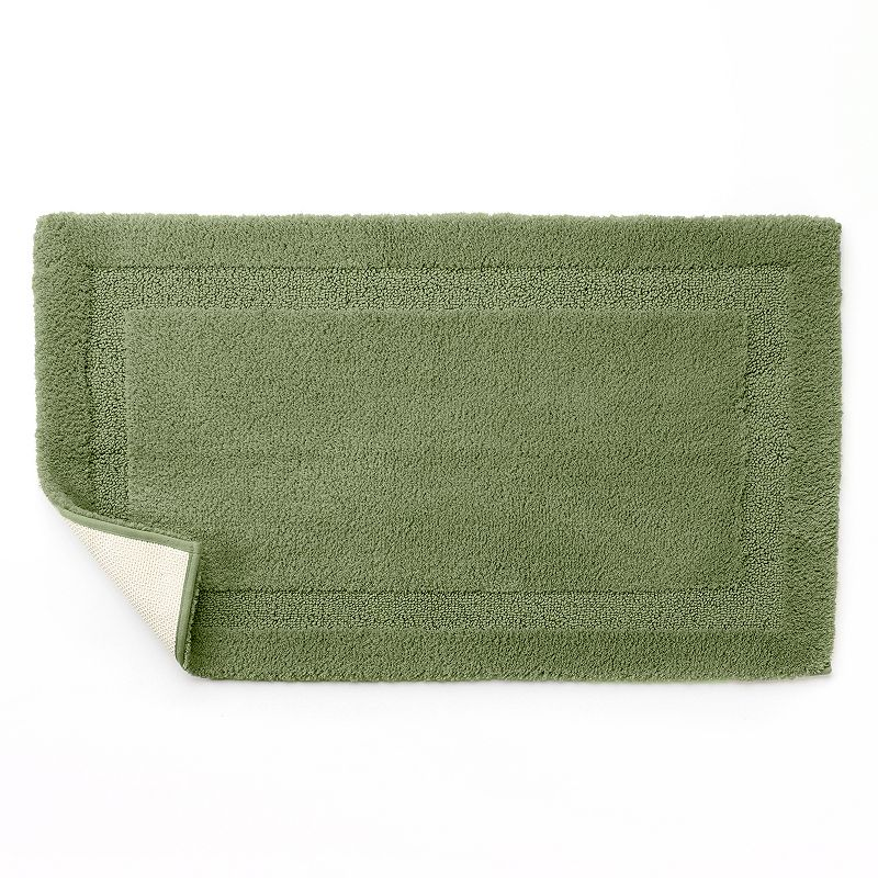 Chaps Home Richmond Bath Rug 19 X 34 Green 30 99