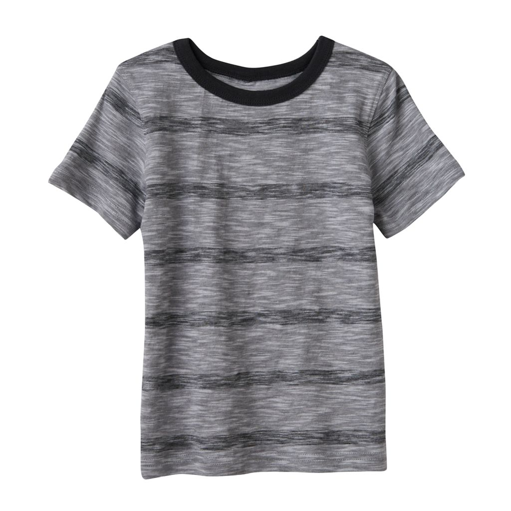 Toddler Boy Jumping Beans® Slubbed Striped Tee