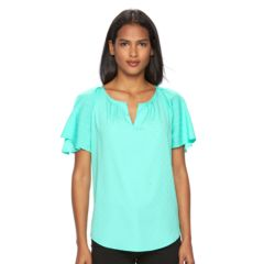 Womens Green Shirts & Blouses - Tops, Clothing | Kohl's