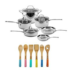 BergHOFF EarthChef 16-pc. Premium Copper Clad Cookware Set