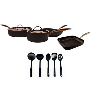 BergHOFF Ouro Gold 11-pc. Starter Cookware Set