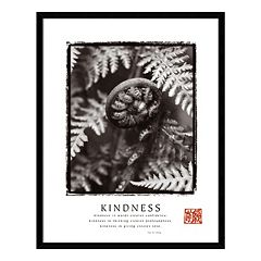 'Kindness' Framed Wall Art