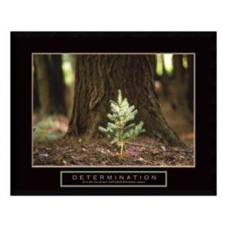 """Determination"" Little Pine Framed Wall Art"