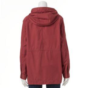 Juniors' Unionbay Lexie Twill Hooded Jacket