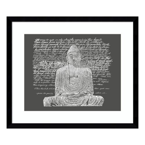 Buddha Sayings Framed Wall Art