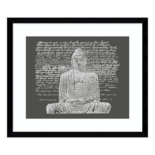 Buddha Sayings Framed Wall Art