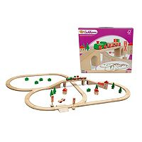 Eichhorn 55-pc. Wooden Train Set