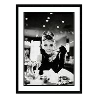 Audrey Hepburn Breakfast At Tiffany's Framed Wall Art