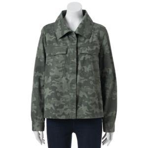 Juniors' Unionbay Kyra Austin Camo Jacket