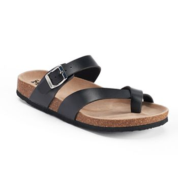 Mudd Womens Toe Loop Sandals