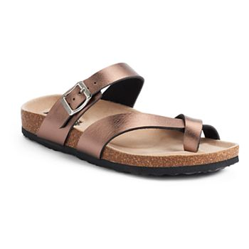 Mudd Women's Toe Loop Sandals