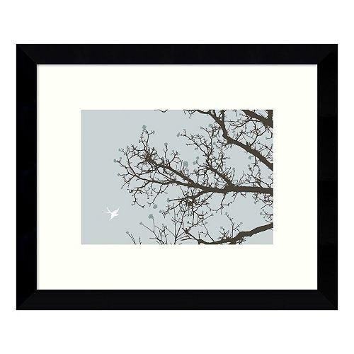 Whimsy Tree Framed Wall Art