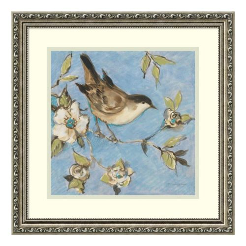 Native Finch I Framed Wall Art