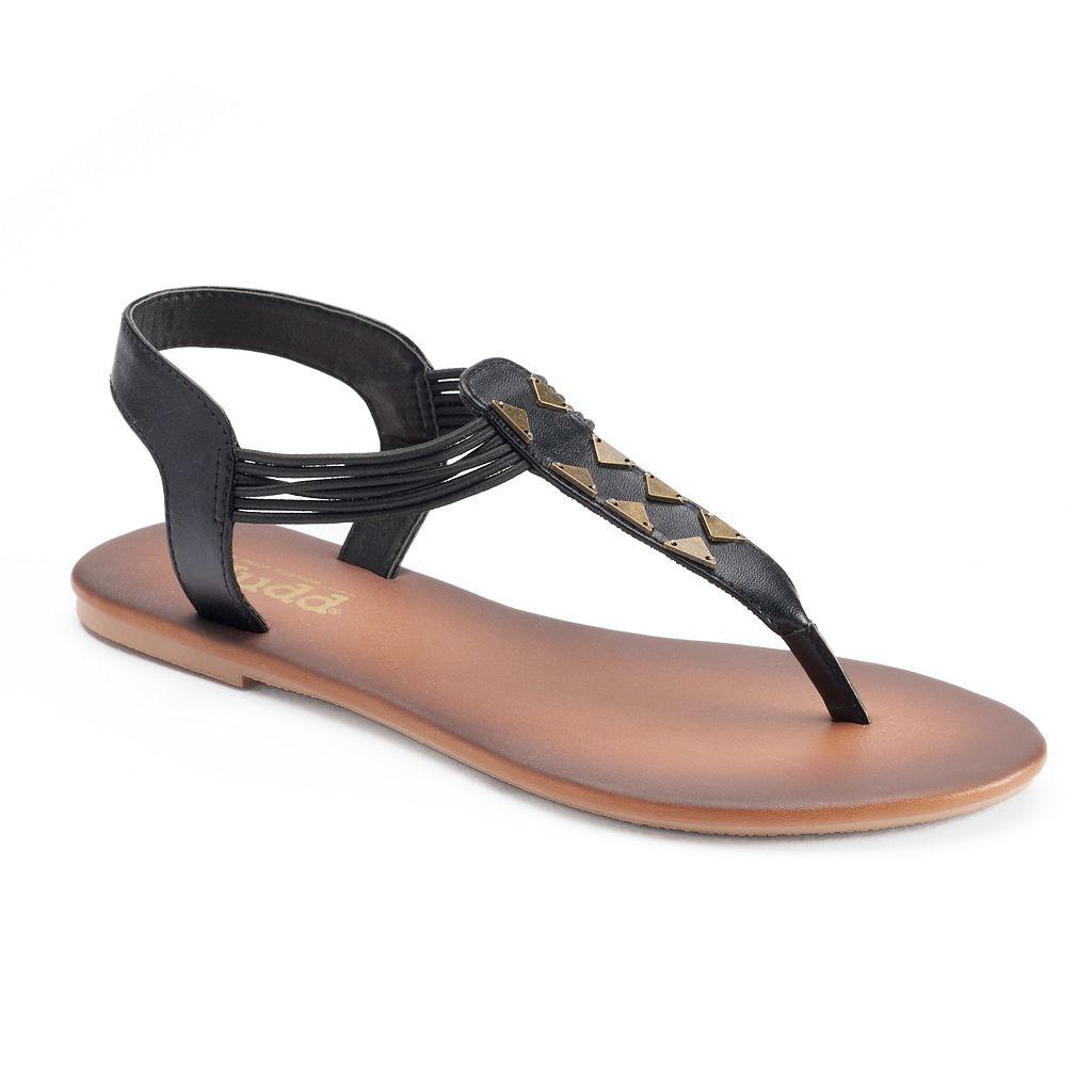 Mudd® Women's Triangle Strap Thong Sandals