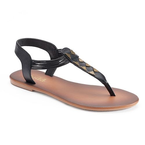 212573599519d4 Mudd® Women s Triangle Strap Thong Sandals