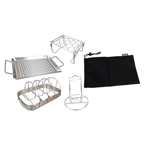 Char-Broil 4-in-1 Grill Topper Set