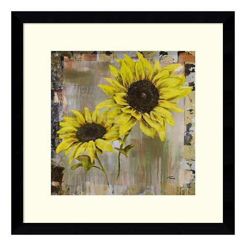 Sunflowers Framed Wall Art
