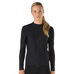Women's Speedo Zip-Front Rash Guard
