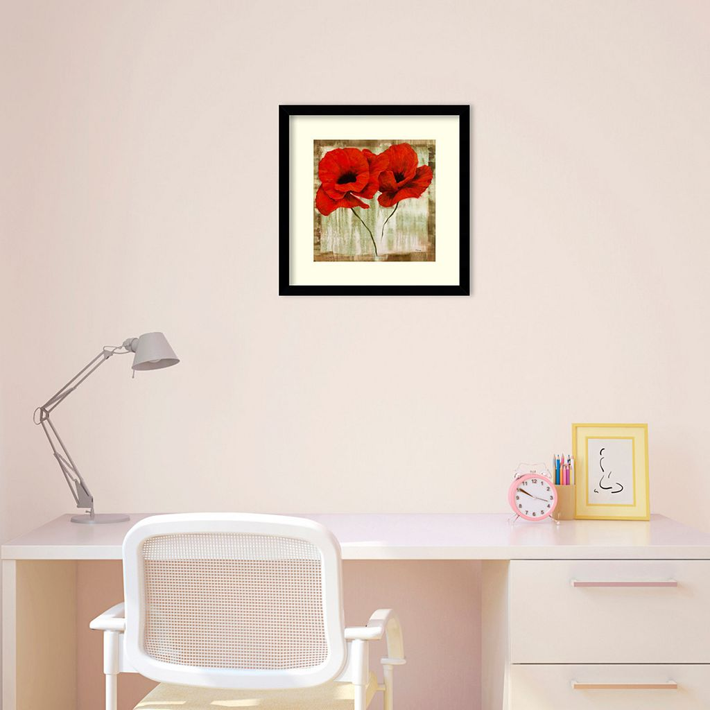 Red Hot Framed Wall Art